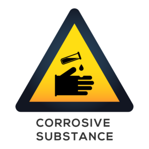 Corrosive Substance Sign
